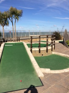 Nice to be beside the seaside: Strokes Adventure Golf in Margate
