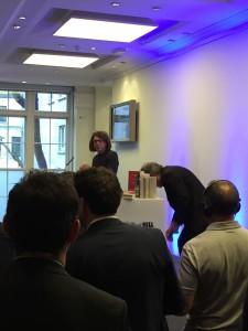 David Goldblatt after receiving the recent William Hill Sports Book Award