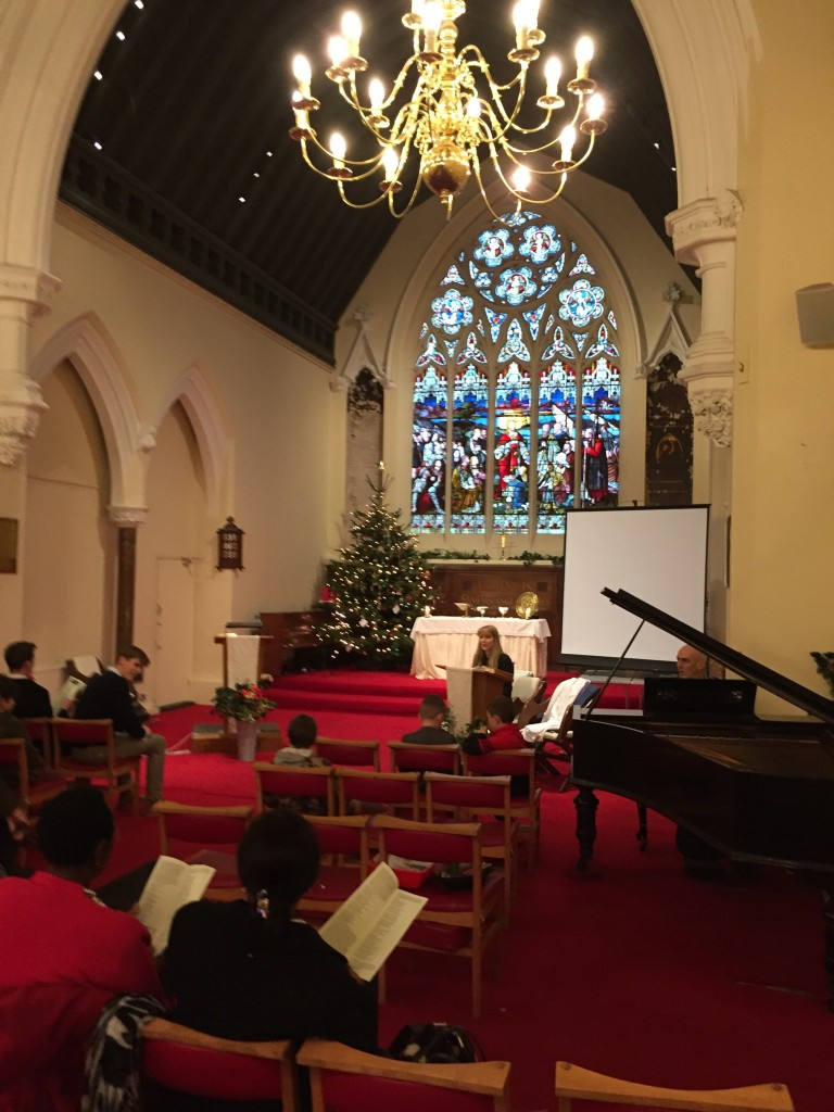 Church at Christmas: it's a time for families but also to remember why we celebrate it