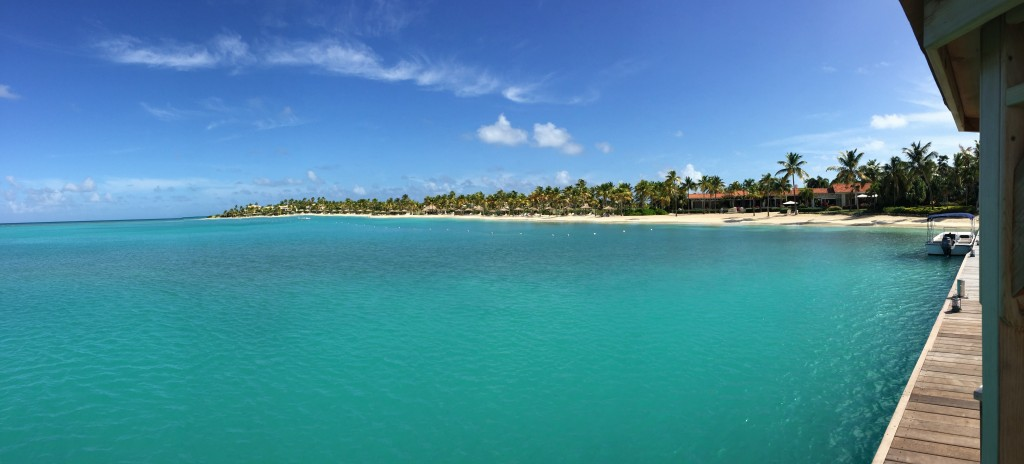 Jumbo Bay Resort, Antigua. If life isn't really a beach, sometimes a beach does look one of the best things life can offer