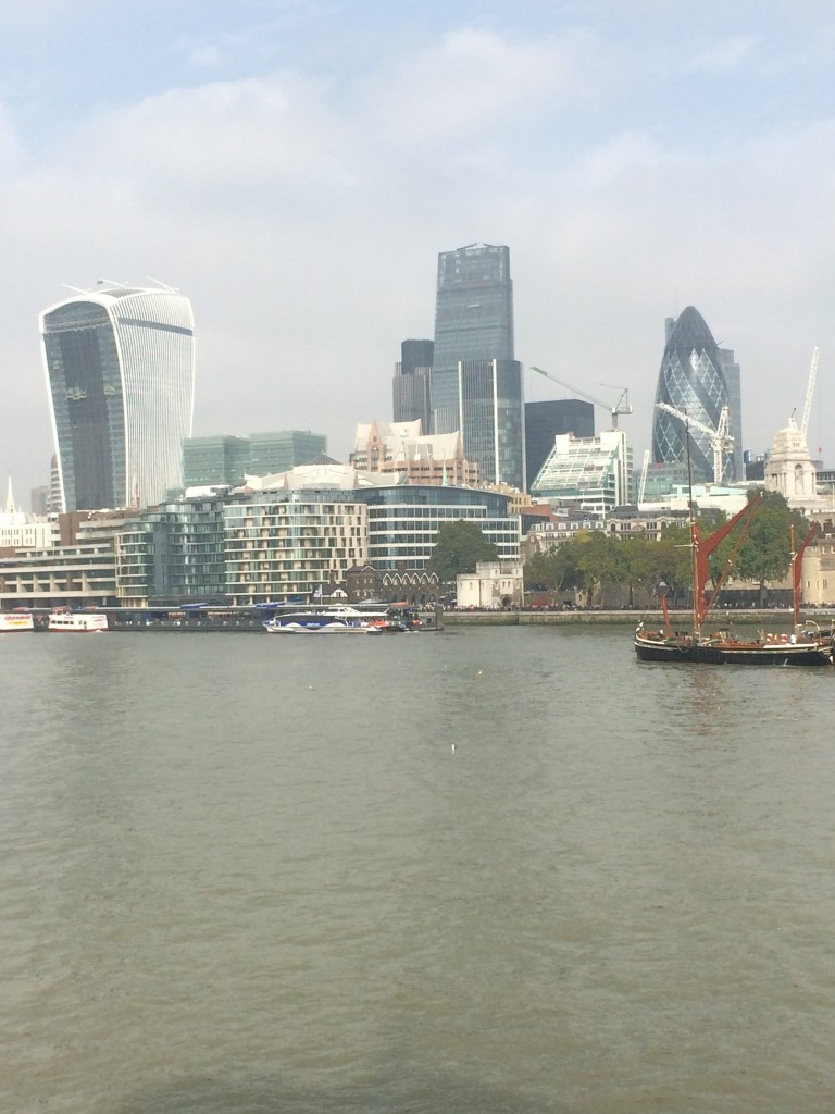Skyline of the City of London: or Mammon by another name?