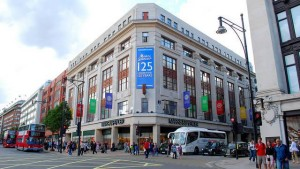 The main Marks & Spencer Oxford Street store
