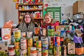 The existence of those seeking sustenance at food banks contrasts sharply with the lives of others