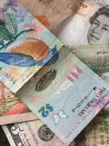 The annual budget is about money in any currency