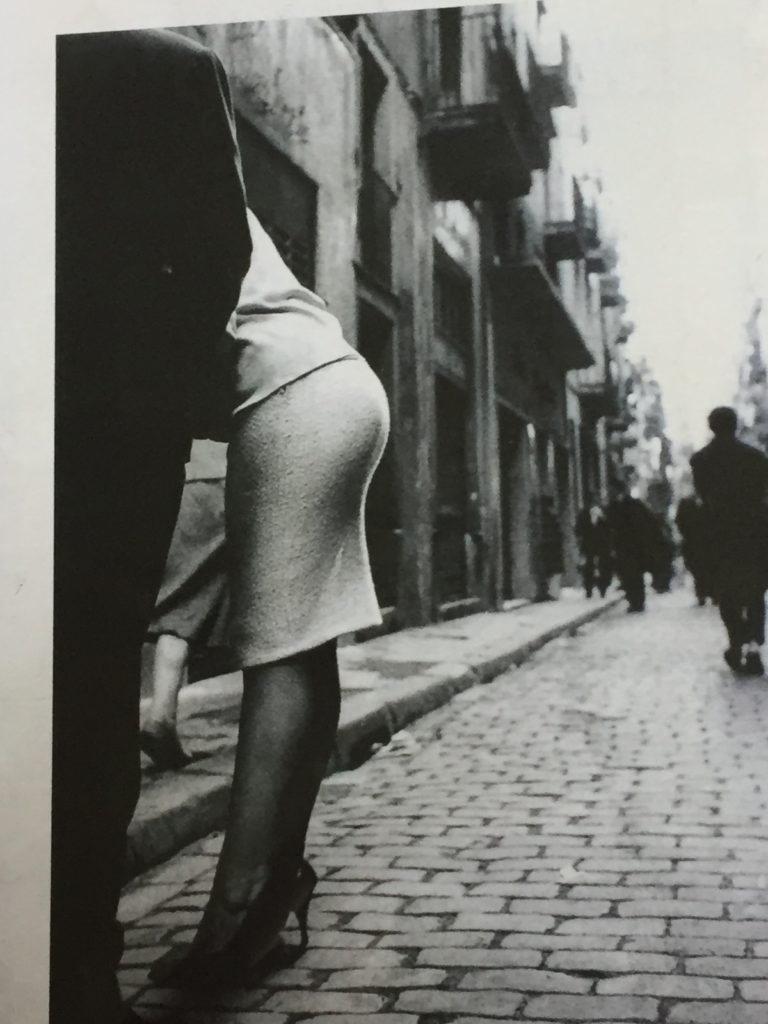 A Joan Colom from Barcelona in the 1960s, when smoking (as well las femininity) was very much in vogue
