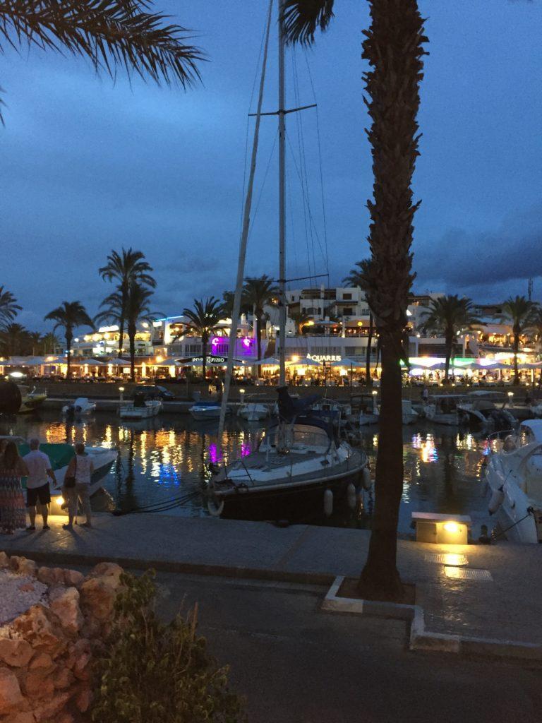 the marina at Cala d'Or