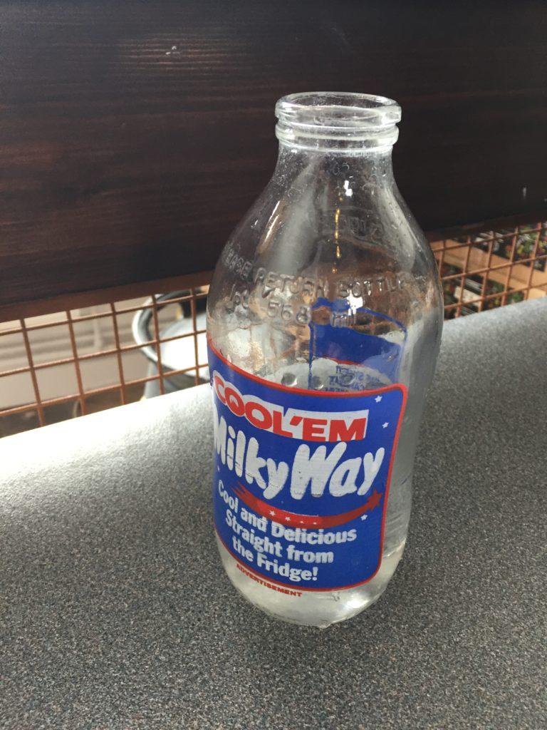 milk bottle for water